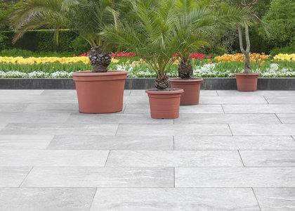 steinplatten im garten- & landschaftsbau - galabau, Garten ideen